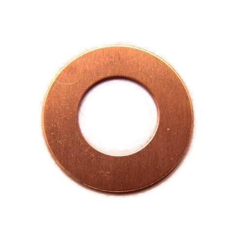 Tag Donut Washer Rose Koper 25mm