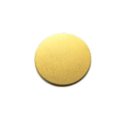 Tag Rond Messing 22mm