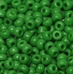 08-411 Miyuki Opaque Green 8/0