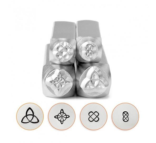 Design stempel Celtic Mandala Pack (4st) ImpressArt