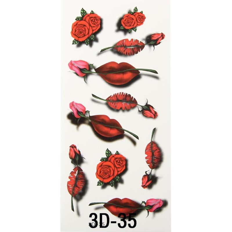 Tattoo's  3D-35