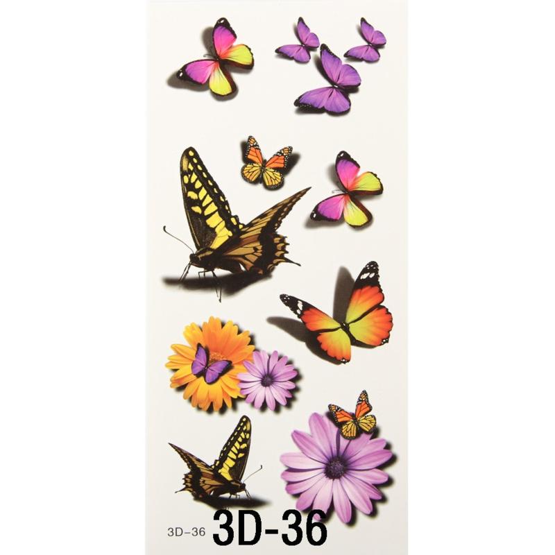 Tattoo's  3D-36