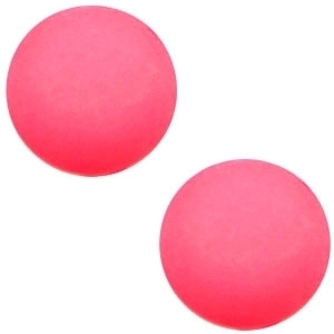 Cabochon Polaris matt 20 mm Indian pink