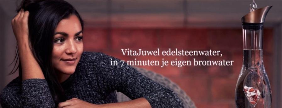 VitaJuwel Edelsteenwater, de ENIGE ECHTE VitaJuwel webwinkel voor alle VitaJuwel producten.