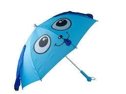 J.i.P paraplu blauw hond