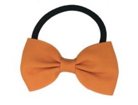 Elastiek met kleine oranje strik