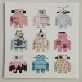 Kaart Robots roze