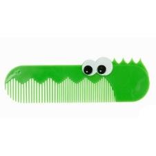 J.i.P haarkam groen krokodil