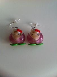 Hello Kitty oorbellen 3