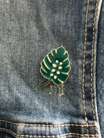 Pin groen Blad