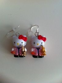Hello Kitty oorbellen 2