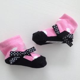 J.i.P ballet sokjes licht roze wit zwart