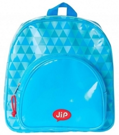 J.i.P rugzak geo tarpaulin blauw