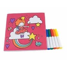 J.i.P afwasbaar kleurboek Candy Girls