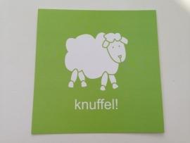 Lief! postcard `knuffel!`