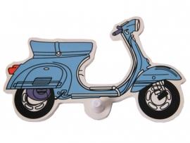 Kapstok scooter rood of blauw