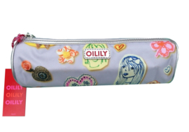 Oilily etui zilver rond