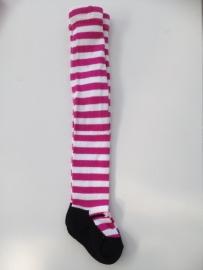 J.I.P maillot roze met wit gestreept