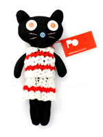 Pakhuis Oost knuffel zwarte kat Cleo