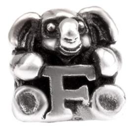 Alfabet bedel SilveRado Kids - Letter F | SRK006