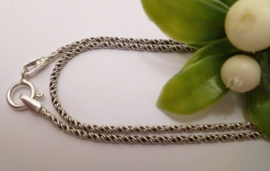 Zilveren Plain ketting 1,5mm | 50cm
