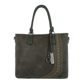 Dames schoudertas / Shopper Dudlin (TA-JQ1126-1-green)