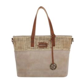 Dames schoudertas / Shopper Dudlin (TA-4135-165-taupe)