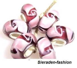SL13. Pandora style glasbedels