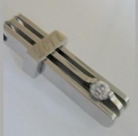 Stainless Steel hanger LOVE + Ketting 55cm   | 3038