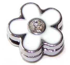 FS34. Slider flower white