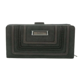 Luxe Portemonnee Pocket PU-leder GB-M492-grey