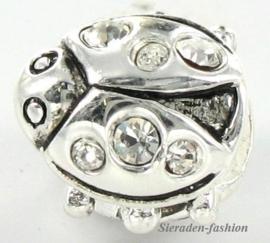 Pandora style bedel - Lieveheersbeestje Z529