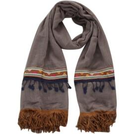 Boho Ibiza sjaal Paradise bruin