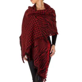 Sjaal/omslagdoek van Holala red
