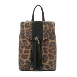 Rugtas met luipaard print (TA-5160-48-black)