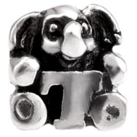 Alfabet bedel SilveRado Kids - Letter T | SRK020