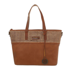 Dames schoudertas / Shopper Dudlin (TA-4135-165-cognac)