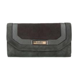 Luxe Portemonnee Pocket PU-leder GB-M487-grey