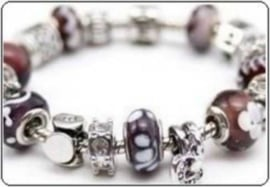 Pandora style zilver/goud