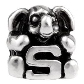 Alfabet bedel SilveRado Kids - Letter S | SRK019