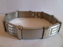 Edelstalen armband 20 cm | HA13