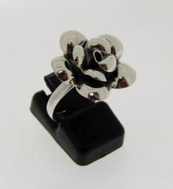 Zilveren ring met Roos 18 mm | SZR14