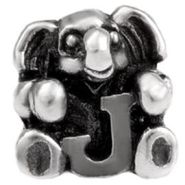 Alfabet bedel SilveRado Kids - Letter J | SRK010