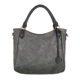 Dames schoudertas / Shopper Dudlin (TA-7035-15-grey)