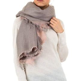 Sjaal van Best Fashion roze 150x140cm