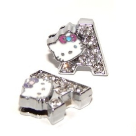 Letter sliders 8 mm | HELLO KITTY