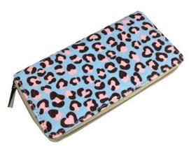 Mooie portemonnee met tijgerprint