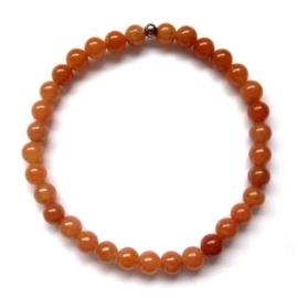 Armband met Edelstenen oranje Aventurijn