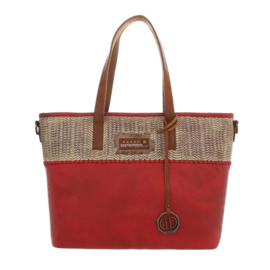 Dames schoudertas / Shopper Dudlin (TA-4135-165-red)