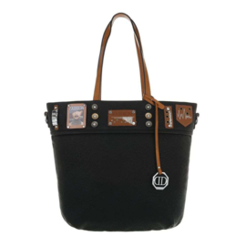Dames schoudertas / Shopper Dudlin black